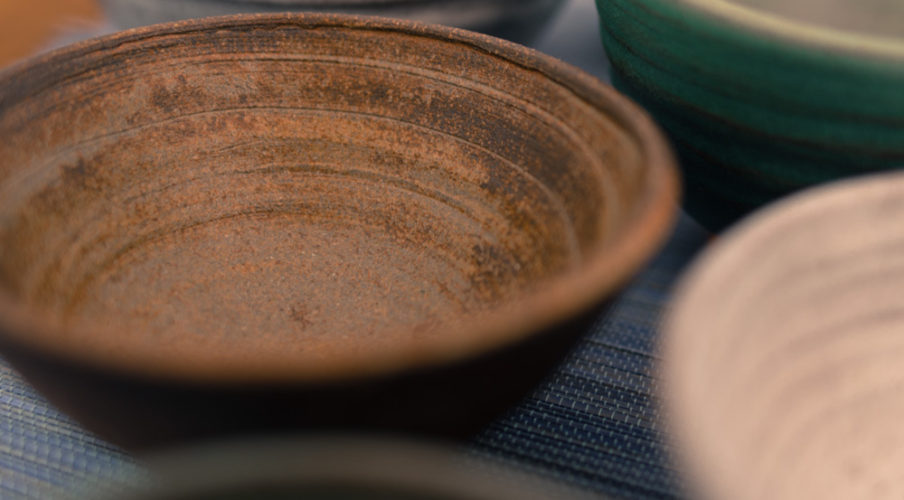 Finished pottery