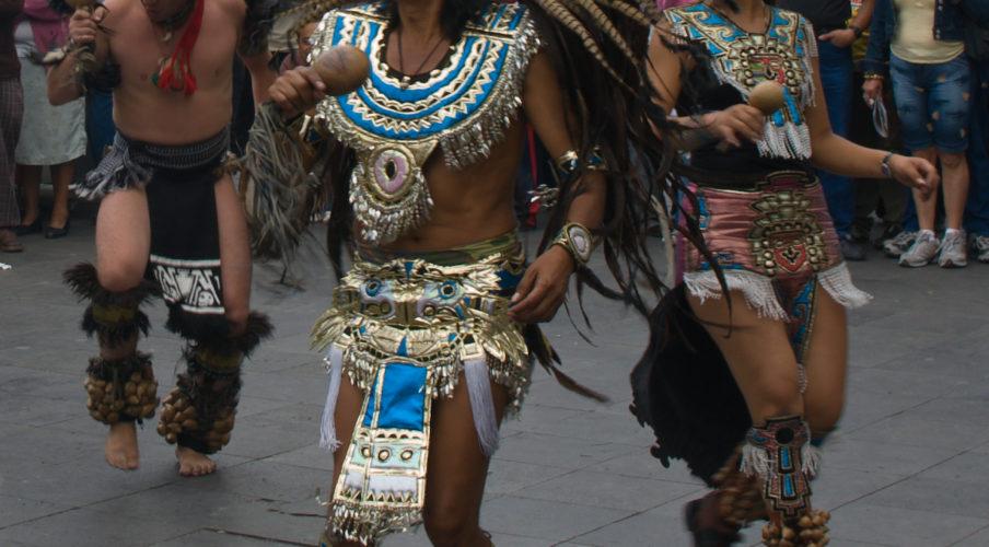 Mexico City: Aztec Performers