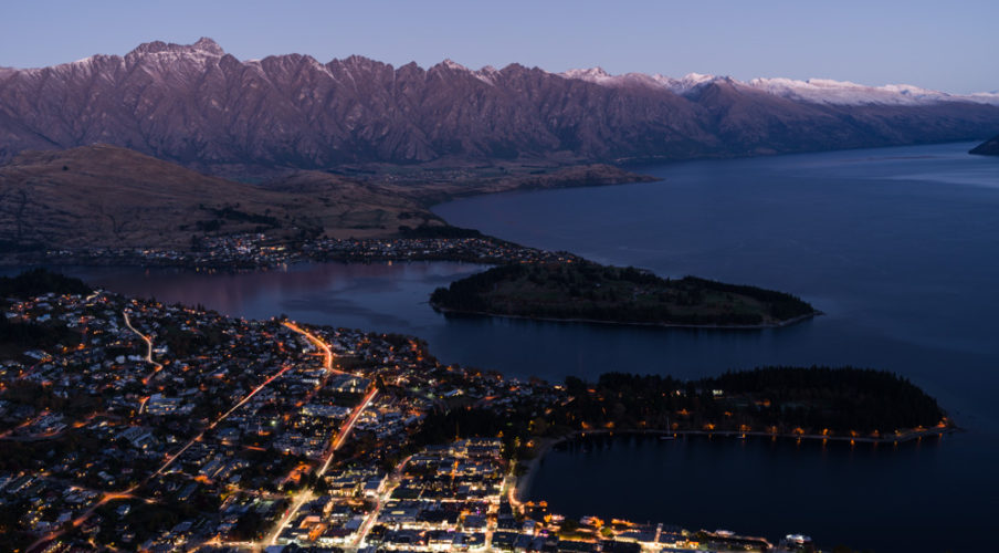 The Remarkables over Queenstown